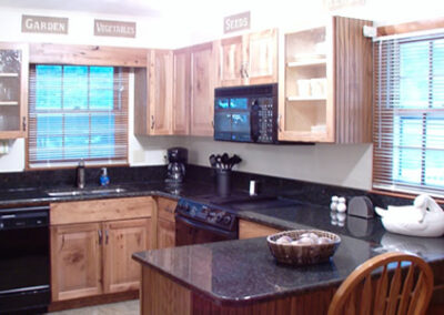 Forge Valley Event Center | Hendersonville, Brevard, Asheville | beautiful kitchen in the cottage