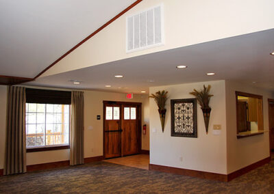 Forge Valley Event Center | Hendersonville, Brevard, Asheville | lovely interior decorations that can be replaced for your taste