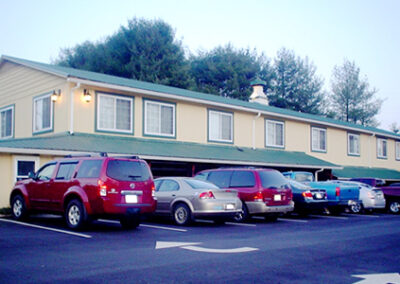 Forge Valley Event Center | Hendersonville, Brevard, Asheville | accessible event parking