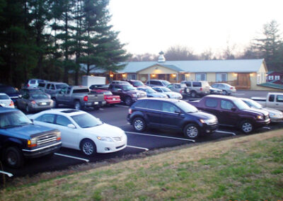 Forge Valley Event Center | Hendersonville, Brevard, Asheville | parking close to event location